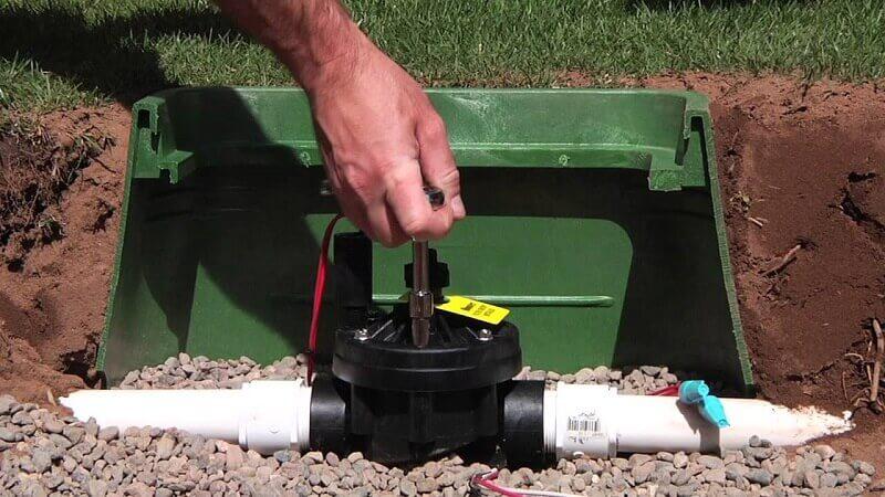 Elettrovalvola per irrigazione